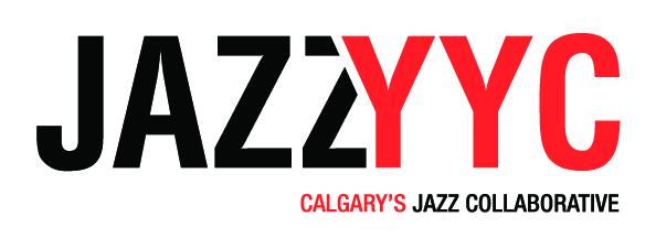 JazzYYC Logo Horiz White